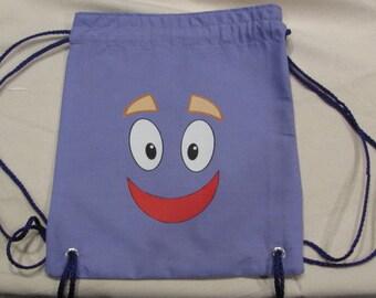 Dora the Explorer Face Backpack Party Favor Bag