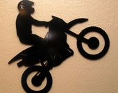 Small Motorcycle Metal Wall Art