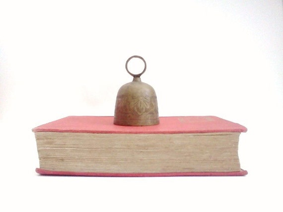 Vintage Brass Bell Back to School Eveteam