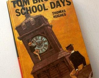 Tom Browns School Days vintage bancroft book Dumas