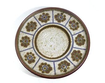 Vintage // Marianne Starck // Michael Andersen // Big stoneware dish // Danish ceramic // Danish modern // Denmark