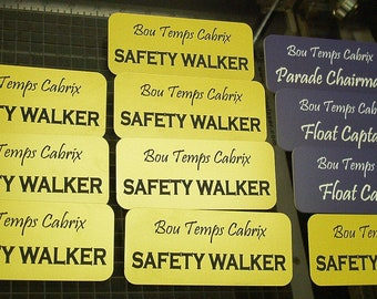 MARDI GRAS Parade Personnel Float Tags