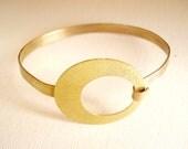 Brass Bangle Bracelet Handmade, Metalwork