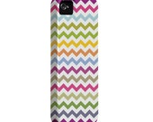 iPhone 5 case with extra protection- Colorful Chevron Pattern Iphone 5 hard case, iPhone 5 hard shell cover