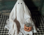 "Primitive Halloween Ghost ""Spooky"""