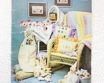 Vintage Pattern Sugar Plum Fairy Cross Stitch Quilting 1981