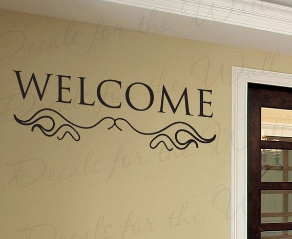 Contemporary Foyer Quotes : Entryway decorating and vinyl lettering porno movie gallery