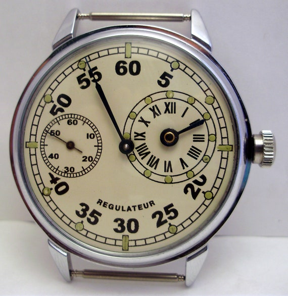 COLLECTION ussr WATCH Molnia Molnija REGULATEUR