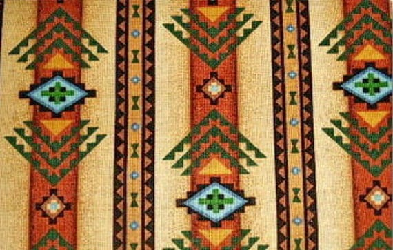 Indian Tribal Pattern - 18 inches x 22 inches