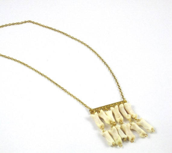 Badger Toe Necklace