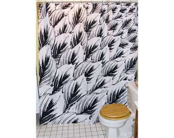 "Shower Curtain - ""Reaching Canna"""