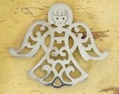 Vintage Angel Trivet // Vintage Mod Angel Trivet