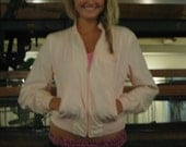 pale pink light weight vintage jacket by anderson Little