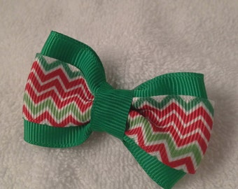 Christmas ZigZag Bow