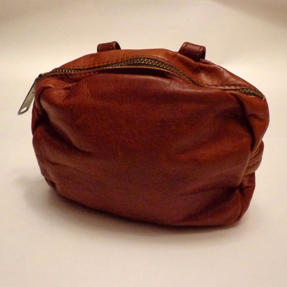 Vintage Leather Wallet / Belt Pouch
