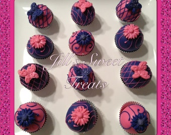 Pink and Blue How about You..Cake Balls