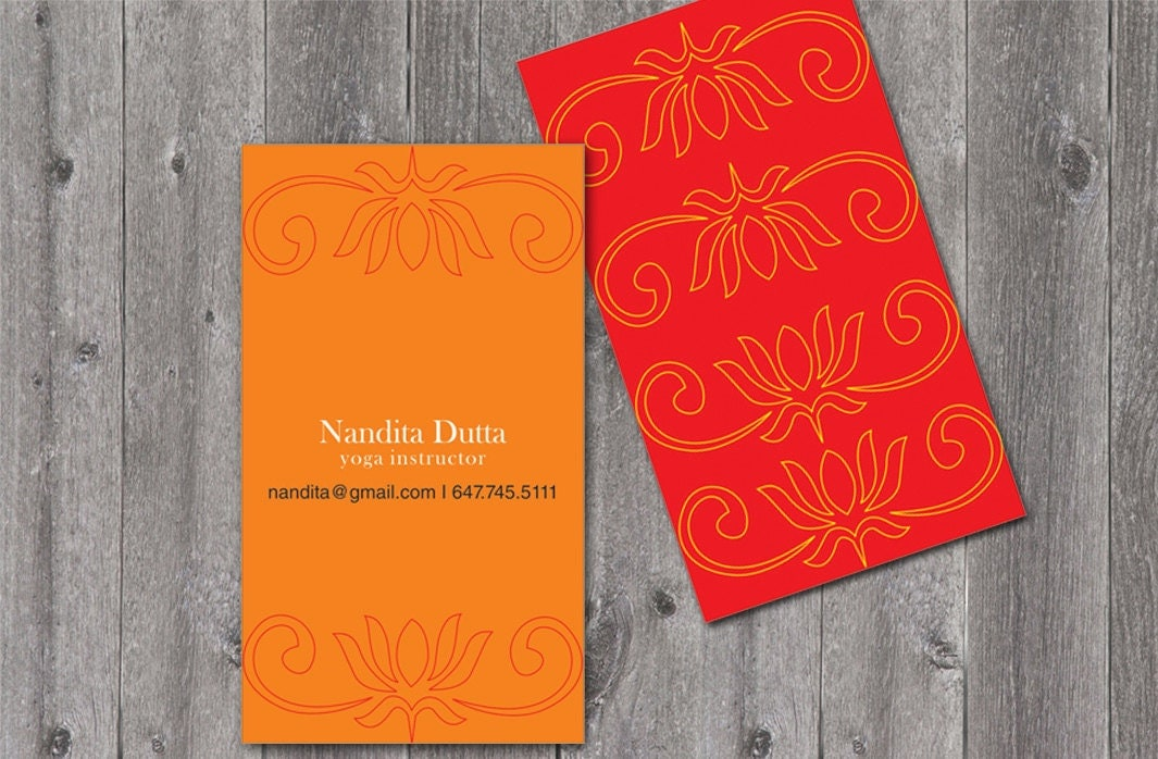 Inspirational Gallery Of Yoga Business Cards - The Business Cards ...