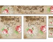 ETSY SHOP BANNERS Happy Rose