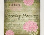 ETSY SHOP BANNERS Vintage Sunday Morning