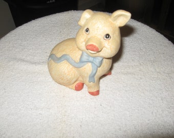 Collectible Ceramic Pig