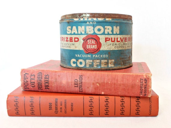 Vintage coffee can - Chase and Sanborn