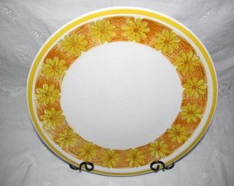 Vintage Ceramic Guild Esperanto Sleepy Hollow Serving Platter Chop Plate