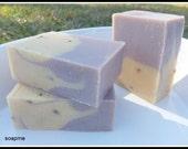 Handmade Goats Milk & Lavender Soap