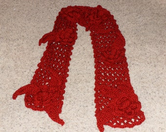 Irish Rose Scarf
