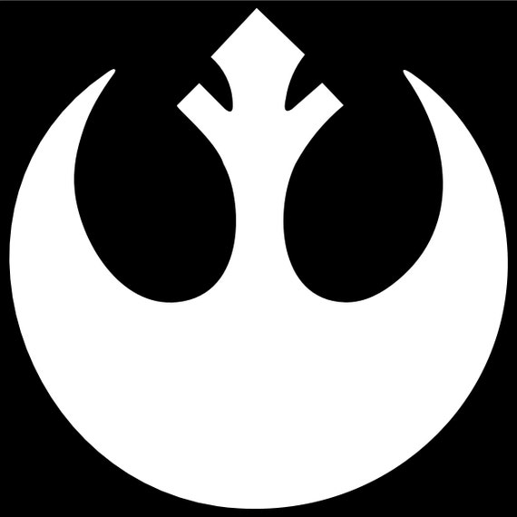 Star Wars Rebel Logo Vinyl Decal Sticker ANY COLOR
