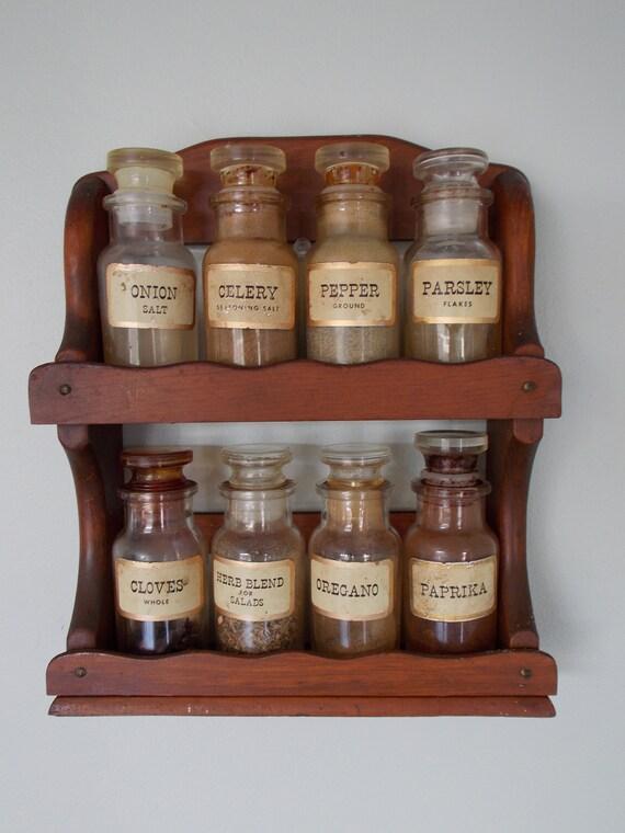 John Wagner & Sons 8 Bottle Spice Rack