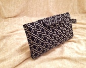 Custom Listing for Nadine: Custom All-in-One Changing Pad Diaper Clutch with Travel Wipes Case and Wipes