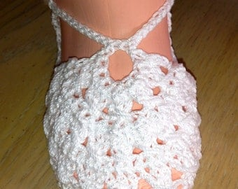 Crochet Pattern for Booties Shoes Slippers Mary Janes, Fantail Mary Jane Shoes for Baby, PDF 12-081 INSTANT DOWNLOAD