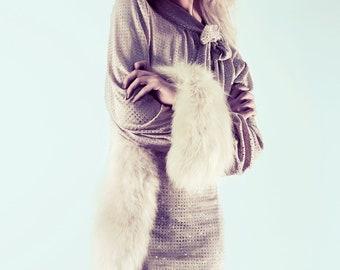 SALE! Tuck Sparkle Dress - Beige/Nude or Black ..Size XS, S, M, L Party Dress