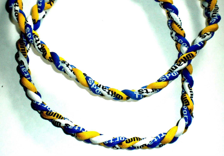items similar to necklace sport ion titanium tornado