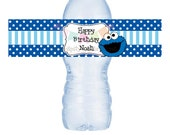 Items Similar To Cookie Monster Inspired Collection Water