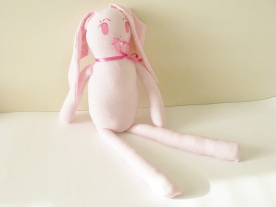 Organic Cotton Doll, For Girls, Girl Nursery, Nadia by Chili Sugar Cookie