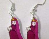 Adventure Time Princess Bubblegum Earrings- Adventure Time earrings