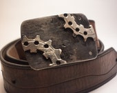 Opposition Bicycle Cog Belt Buckle