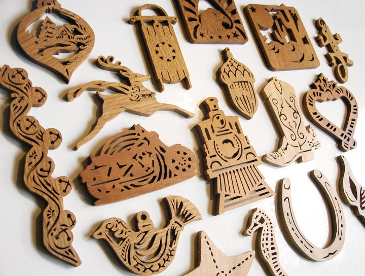 Scroll Saw Christmas Ornaments Pdf Plans Diy Free Download