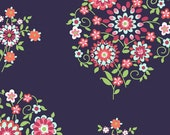 Amy Butler Fabric - Memento in Midnight - Love Collection