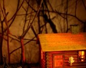 Diorama Night Light - Cabin in the  Woods