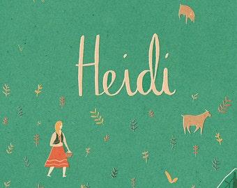 A3 Heidi poster