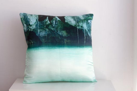 Sale, 20% off.         Decorative  pillow cover. photograph from the Philippines  . 16 X 16