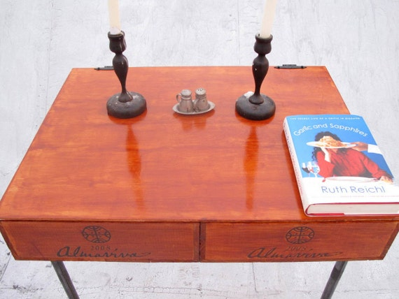 Big Orange Dining or Coffee Table