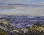"Maine Seascape Painting, Original Oil on Canvas.. ""Pemaquid 10 "".  En Plein Air Art by Kathleen Daughan. - kathleendaughan"