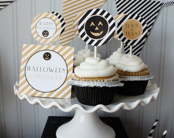 Jackolantern Printable Party Circles : Printable party Designs by THE PAPER DOLL