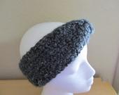 Gray Ear Warmer Headband