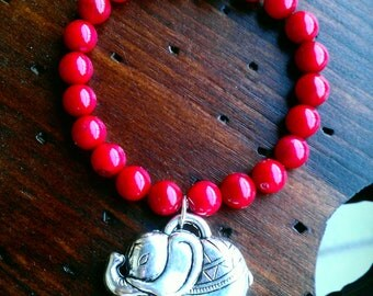 Elephant Beaded Bracelets
