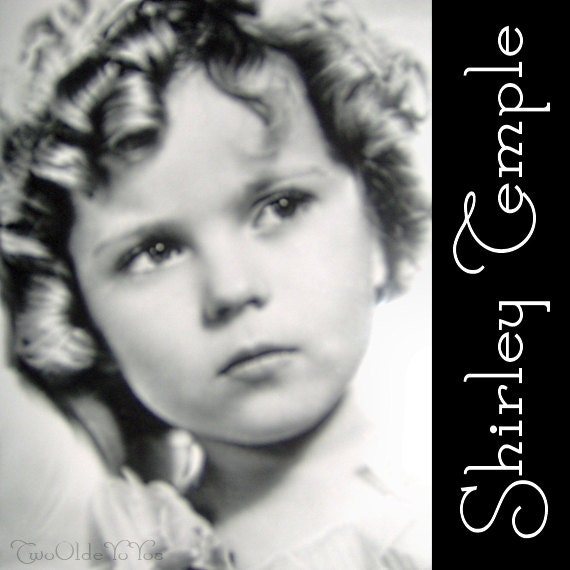 VINTAGE Photo of SHIRLEY TEMPLE