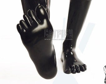 Best Man Gift /Toe Sock Catsuits / Man Latex Catsuit